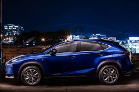 lexus sports car blue 2015 lexus nx review autoevolution
