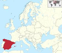 Map Spain Map Of Europe Spain Highlighted Image Gallery Hcpr