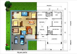 single storey semi detached house floor plan home architecture house plan single storey semi detached house