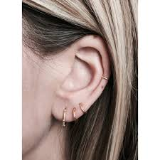 tiny hoop earrings fashionology tiny hoop earrings 8mm gold plated fashionology
