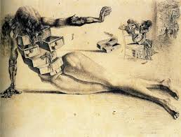 the city of drawers 1936 salvador dali artsy pinterest
