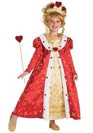 halloween costume queen of hearts girls hearts princess costume child red queen of hearts costumes