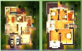 modern home design floor plans house exterior design for small lot in the philippines