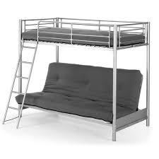 lit superposé avec canapé lit superposé en métal avec un canapé lit 90x190 cm et inférieure