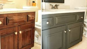how to paint bathroom cabinets white painting bathroom vanity before and after painting bathroom vanity