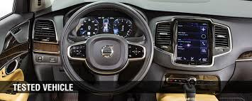 2016 volvo xc90 review consumer reports