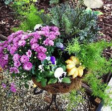 Fall Garden Decorating Ideas Follow The Yellow Brick Home Fall Garden Displays Ideas For