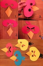 How To Make A Paper Beak - how to make a bird beak grandsons bird costumes