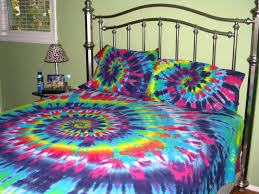 Tie Dye Bed Set Sweet Dreams Size Spiral Tie Dye 100 Organic Cotton