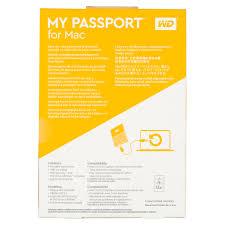 wd 4tb black my passport for mac portable external hard drive