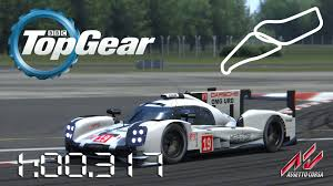 porsche hybrid 918 top gear assetto corsa 2015 porsche 919 hybrid lmp1 wip top gear test