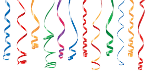 party streamers party decorations color streamers or curling party ribbons