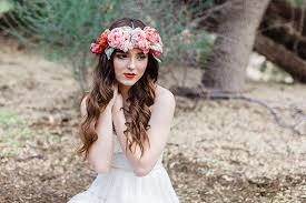 flower accessories bohemian bridal accessories silk flower crown