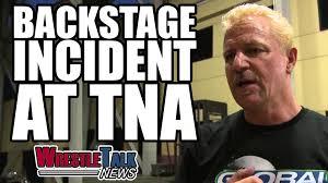 wwe talent raid on tna backstage incident at impact wrestling