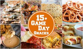 Best Comfort Food Snacks 15 Easy Game Day Snacks Yummy Healthy Easy