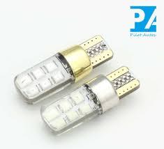 silicone light bulbs wholesale car silicone led light bulb t10 2835 12smd canbus pilotautos