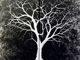 white tree scary website
