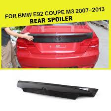 Bmw M3 328i - aliexpress com buy car styling carbon fiber rear trunk spoiler