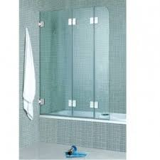 bifold shower door frameless folding bathtub doors foter