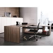 modele bureau bureau de direction avec meuble de rangement en retour modèle rex de