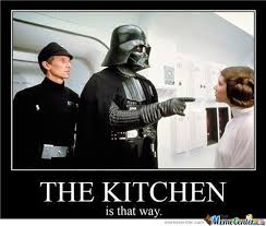 Kitchen Memes - the kitchen is that way by mustapan meme center