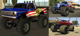gta 5 mod monster truck sound from gta san andreas new