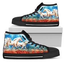 painting color horses canvas shoes barn smile shop for farmer