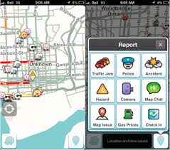waze android waze for android and ios updated brings in real time road