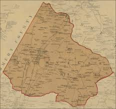 Md County Map Maps Of Maryland Counties