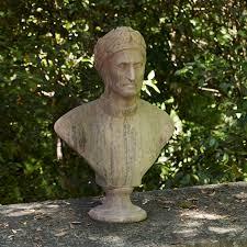 dante alighieri terracotta bust recuperando