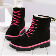 womens winter boots size 9w womens flat ankle boots ebay