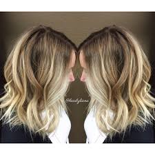 rooted brunette and blonde balayage pretty color melt for a