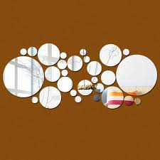 Circle Wall Mirrors Online Get Cheap Round Wall Mirror Set Aliexpress Com Alibaba Group