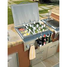 outdoor kitchen ice bin video and photos madlonsbigbear com