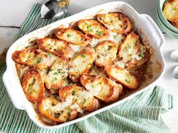 www southernliving french onion soup casserole recipe southern living mastercook
