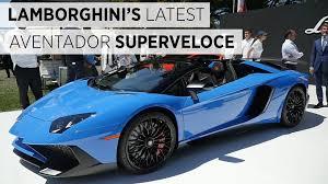 Lamborghini Aventador Top Speed - superfast