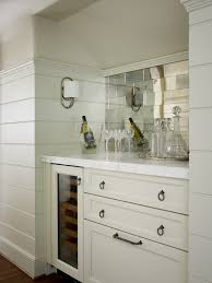 Mirrored Subway Tile Backsplash Bathroom Transitional With by Mirrored Subway Tiles Bathroom Industrial With Beige Floor Tile