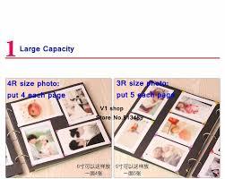 Large Wedding Photo Album Baby Photo Album Large Scrapbook Kit For Baby Lover Diy Wedding