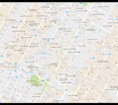New York City Map Google by New York City Rockefeller Center Neighborhood Map