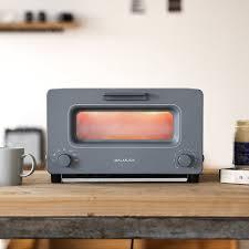 Burning Toaster Amazon Com Steam Oven Toaster Balmuda The Toaster K01a Gw Gray