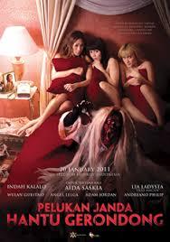 film hantu gunung kidul pelukan janda hantu gerondong indonesian movie posters horror