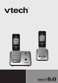 vtech cordless telephone cs6619 2 user guide manualsonline com