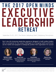 institute agenda the 2017 open minds executive leadership retreat