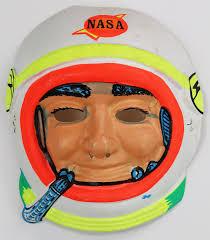 halloween nick nacks vintage halloween nasa astronaut mask spaceman 1960s the wild robot