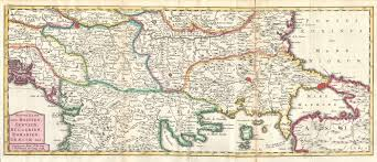 Map Of Serbia File 1738 Ratelband Map Of The Balkans Bosnia Serbia Bulgaria