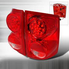 2005 dodge grand caravan tail light assembly dodge dakota 2005 2007 red led tail lights led euro tail lights