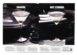 Bmw U2013 Shaken Not Stirred The Bible Of Car Campaigns