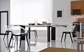 tower wood dining table by calligaris
