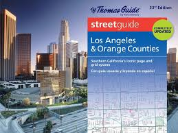Los Angeles Street Cleaning Map by Thomas Guide Los Angeles U0026 Orange Counties Thomas Guide