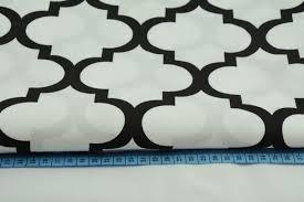 100 black moroccan trellis on a white background